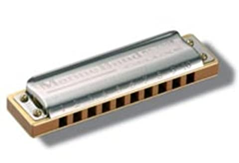 HARMONICA BLUES-Hohner (2005/20G) Marine Band Deluxe (Nota Sol) (20 Voces) - 2005 Blue Note