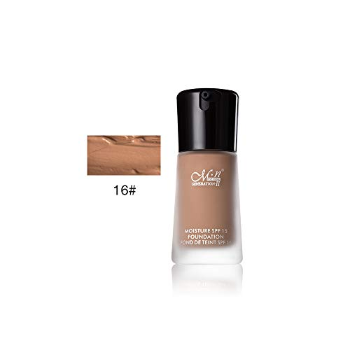 PNING Feuchtigkeitsspendende Concealer-Foundation Flüssige Make-up Concealer Full Coverage Langlebige Natürlich Gesichtscreme Foundation Make-up plus Perfect Skin Primer