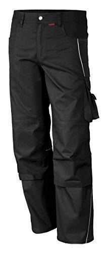 Qualitex PRO Bund-Hose Arbeits-Hose MG 245 - schwarz - Größe: 54