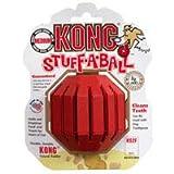 Kong Stuff a Ball Mittelgroßer Hund Zahnpflege Kauspielzeug (KS2)