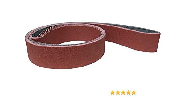 Klingspor LS 309 JF Lot de 5 bandes abrasives 50 x 2000 mm Grain au choix LS 309 JF