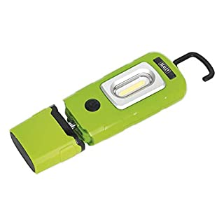 Sealey LED3601G LED Rechargeable Lithium-Polymer Inspection Lamp, Green