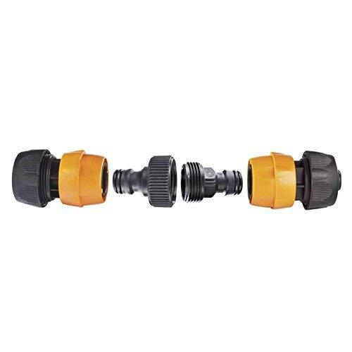 Provence Outillage 01177 Raccord Rapide Noir Diamètre 19 mm Lot de 4