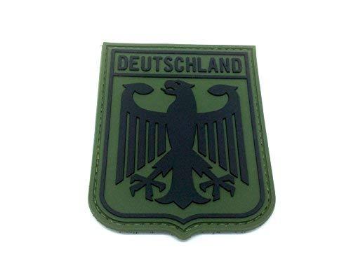 Deutschland Königlichem Wappen Kaiseradler Grün-Flaggen PVC Klett Emblem Abzeichen Wappen-patches