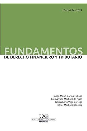 Descargar gratis Fundamentos de Derecho Financiero y Tributario. Materiales 2019 de Diego Marín-Barnuevo Fabo