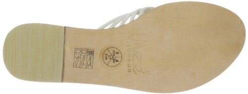 Unze L18326W, Chaussures basses femme Blanc (L18326W)