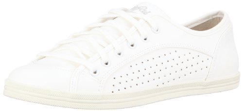 Buffalo Damen 507-9987 TUMBLE PU Sneaker, Weiss (WHITE412), 41 EU Buffalo Denim