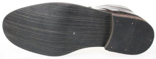 Red tape Nant Noir Marron richelieu en cuir à lacets Bottines de grande qualité Marron - marron