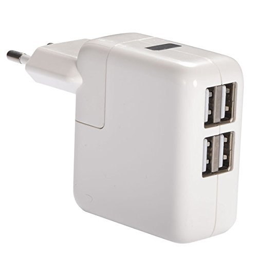 Qawachh 4 in1 Multiport USB Fast Charger 2.1 Ampere with USB Cable