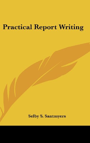 Practical Report Writing