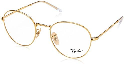 Ray-Ban Unisex-Erwachsene 0RX 3582V 2500 51 Brillengestelle, Gold,