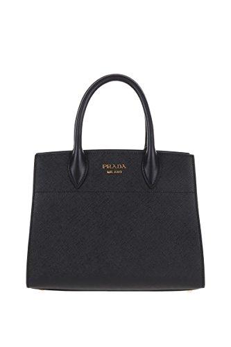 Prada-Womens-1BA0502EVUF0D9A-Black-Leather-Handbag