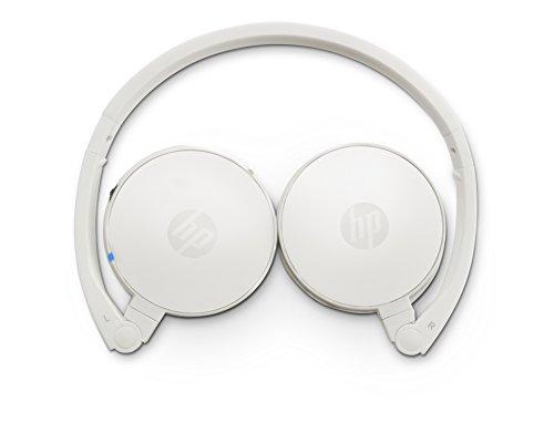 HP H7000 (G1Y51AA) kabellose Kopfhörer (Bluetooth-fähig, Microsoft Windows XP/Vista/7/8/Android 3.0/Apple iOS 4.3) weiß Hewlett Packard Bluetooth