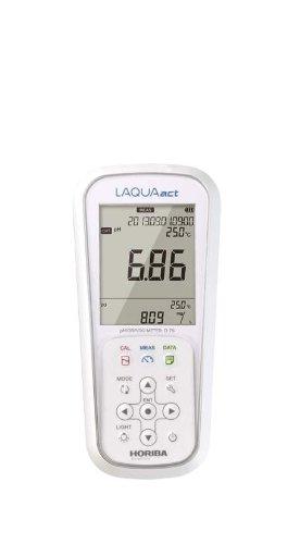 Horiba 3200575167 D-75 Misuratore Portatile pH/ORP/Ossigeno Disciolto, Impermeabile IP-67