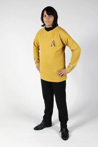 Star Trek Original Series - Uniform Shirt - Captain - Super Deluxe - Medium by Filmwelt ()