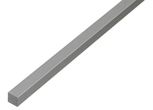 GAH Alberts 470128 Tube Carré, Aluminium, 1000 x 40 x 40 mm