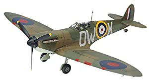 Tamiya 61119 61119-1:48 - Maqueta de avión Spitfire MKI (construcción de plástico, sin lacar)
