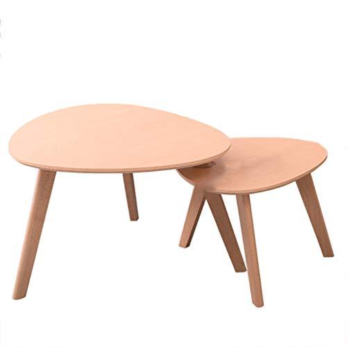Tables basses Combinaison Petite en Bois Massif Petite Mini Chambre Petite Petit Appartement étude Balcon Salon Creative