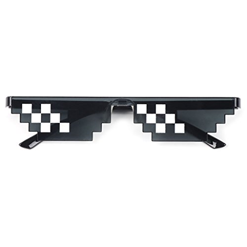 SimpleLife Thug Life Sonnenbrillen, Glasses Party Brillen Sonnenbrillen Toy Glasses Photo Props Unisex