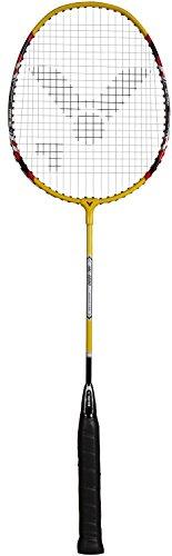VICTOR Badmintonschläger AL-2200, Gelb/Silber/Rot, 66.7 cm, 103/0/0