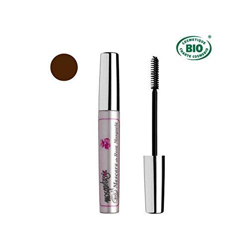 Mascara Bio braun mit Die Wildrosenöl 8ml
