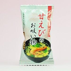 condimentos qu?micos sin aditivos liofilizado dulce camarones sopa 6.3gX10 bolsas (dulce entero camarones uso 1 cola) (e-vida org?nica)