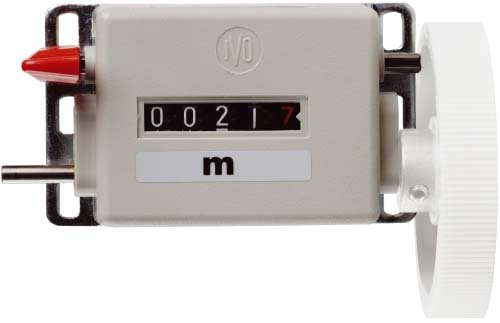 Meterzähler Messbereich 9999,9m Ziffernhöhe 4,5 mm (9 Stück-zähler)