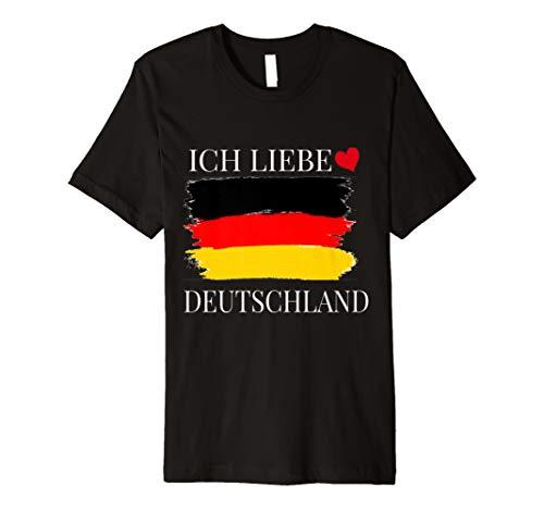 Ich Liebe Deutschland T-Shirt I Love Germany -