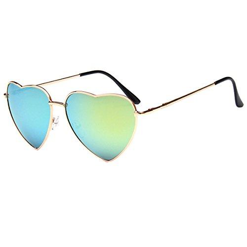 Millya Damen Sonnenbrille Gr. Einheitsgröße, grün