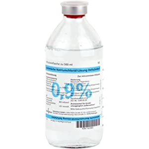 Kochsalzlösung 0,9% Alleman Glasfl., 1X500 ml
