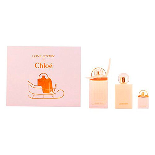 Preisvergleich Produktbild Erleuchtung mit Chloe–Love Story LOTE 3pz 100% Original und erhöht Ihre femminilit mit dieser exklusive Duft Damen Duft mit eine einzige und Personal. Entdecke die Chloe 100%. . .
