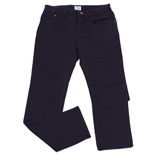 1814Y Pantalone Bimbo Boy Armani JUNIOR Blue Cotton Trouser Pant [12 Years] - Junior Armani