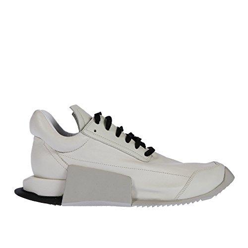 f34a201dd6e6d adidas x Rick Owens Men Level Runner Low (White/RO Milk/RO Dinge/RO Black)