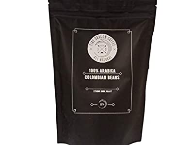 Single Origin Whole Roasted Coffee Beans | 100% Colombian Arabica | 227g from FireDragonCoffee