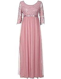 c3059adfe4 Amazon.it: Pizzo - Rosa / Vestiti / Donna: Abbigliamento