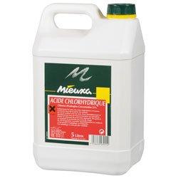 Acido cloridrico 5L mieuxa 23%
