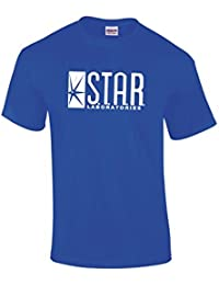 GILDAN Funny Laboratories Star T Shirt Top The Flash S.T.A.R. Labs All Sizes T Shirts