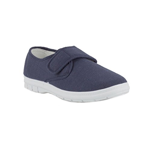 hobos-mens-canvas-shoe-in-blue-size-12-uk-blue