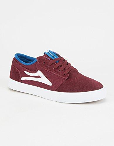 Lakai , Chaussures de skateboard pour garçon Rouge Bordeaux Bordeaux