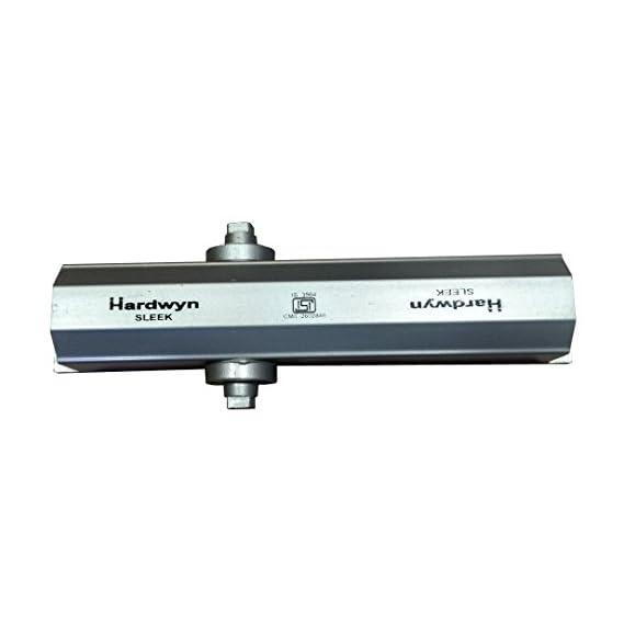 Hardwyn Sleek Hydraulic door Closer with Dual speed control for 80 kgs door