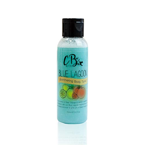 Cougar Beauty Products 6 x Blue Lagoon Body Shimmer