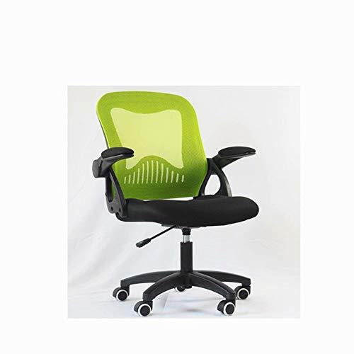 JM-office chair Hochlehner bogenförmiger Lernbürostuhl Computerexekutive Meeting modernes und ergonomisches Design Mesh verstellbare Sitzhöhe Neigungsverstellmechanismus rotierend grau -