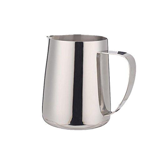 XL-4-Acier inoxydable tranchant tasse de café machine mousse mousse cylindre mousse cylindre 600ML de fleurs