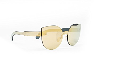 Occhiale da sole RetroSuperFuture Donna Mod.tutto lente Lucia Gold ONB/R