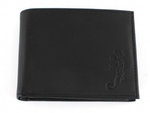OXMOX Kollektion Leather Pocketbörse Lizard 03 lizard (Lizard Bekleidung)