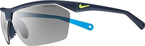 47717d2675 Nike Ev0657 004 Tailwind 12 Sunglasses One Size Matte Dark Magnet Grey Blue  Lagoon Grey Lens