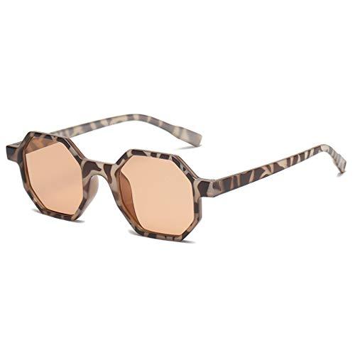 Fish uomo donna poligonale occhiali da sole unisex piccolo octagon occhiali da sole protezione uv outdoor sports eyewear