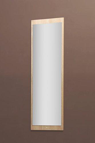 5077-11 - Spiegel od. Garderobenspiegel, in sonoma Eiche sägerau, 112 x 36 cm