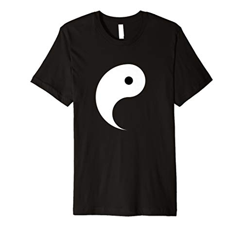 Yang Shirt - passende Yin Yang Kostüm - Herr T Dress Up Kostüm