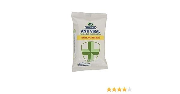 John Dale JD Prot/ège Lingettes Anti Virales Lot de 24